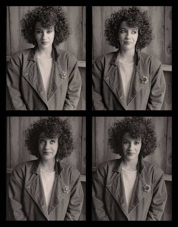 Women Print featuring the photograph Maryann by Tony Ramos