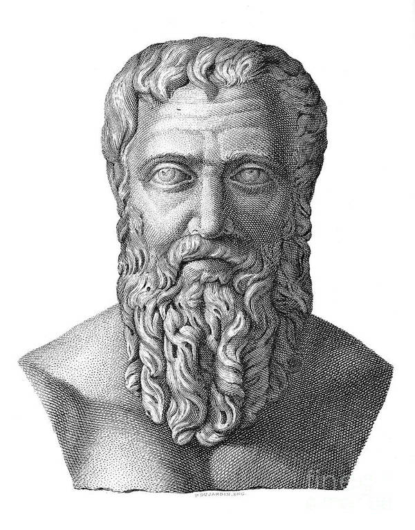 2nd Century Print featuring the photograph Publius Pertinax (126-193) by Granger