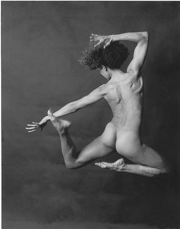 Nude Print featuring the photograph Nude Dancer by Carmine Scarpa