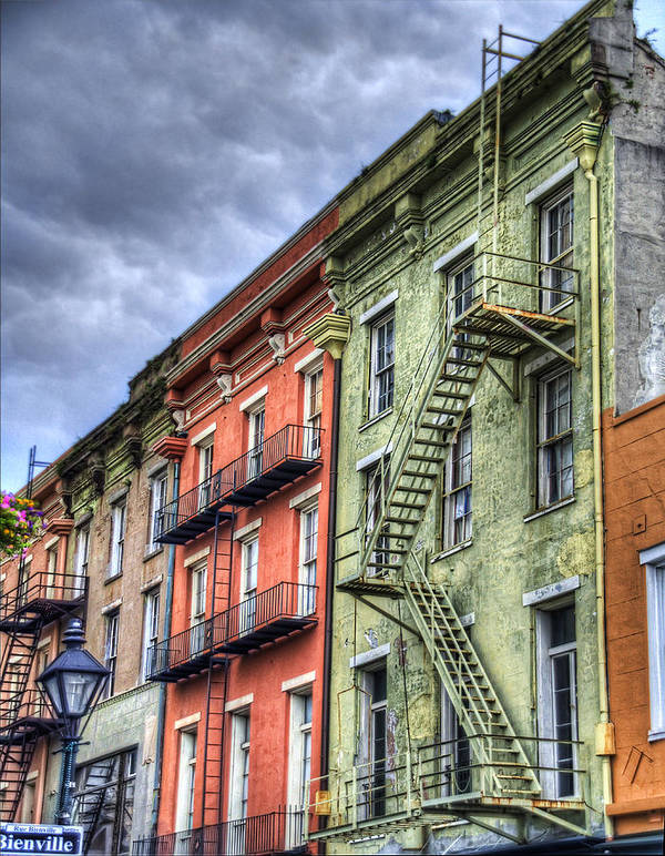 Rue Print featuring the photograph Rue Bienville by Tammy Wetzel