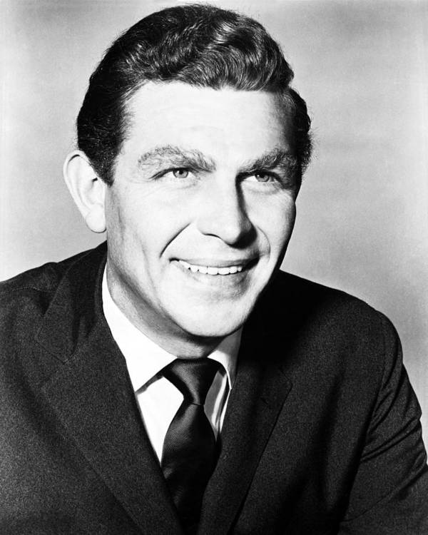 The Andy Griffith Show Print featuring the photograph Andy Griffith In The Andy Griffith Show by Silver Screen