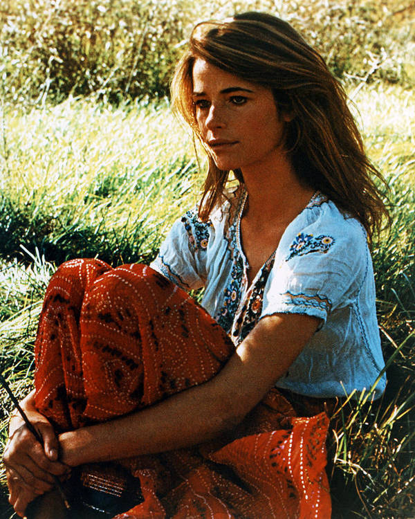 Charlotte Rampling Print featuring the photograph Charlotte Rampling by Silver Screen