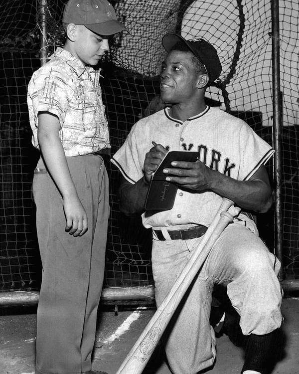 classic Print featuring the photograph Willie Mays by Retro Images Archive