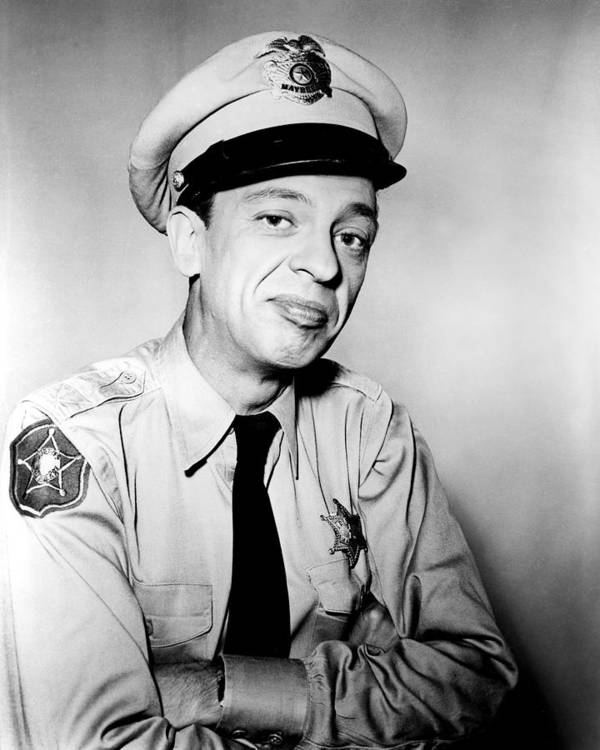 The Andy Griffith Show Print featuring the photograph Don Knotts In The Andy Griffith Show by Silver Screen