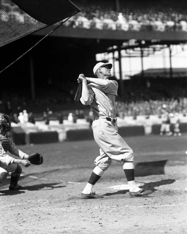 Baseball Print featuring the photograph Fred Cy Williams by Retro Images Archive