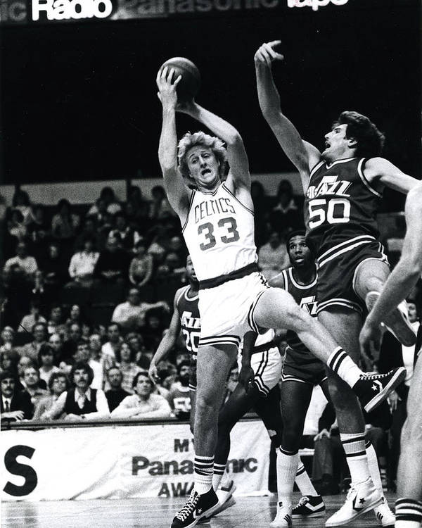 classic Print featuring the photograph Larry Bird by Retro Images Archive