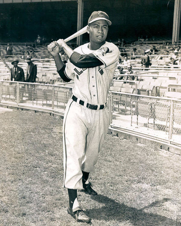 classic Print featuring the photograph Larry Doby by Retro Images Archive