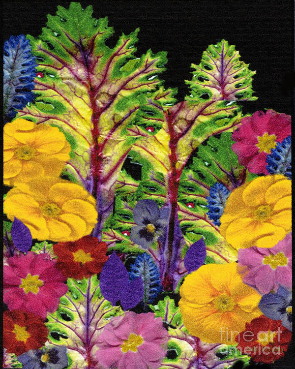 Story Print featuring the digital art Story Book Forest by Kathie McCurdy