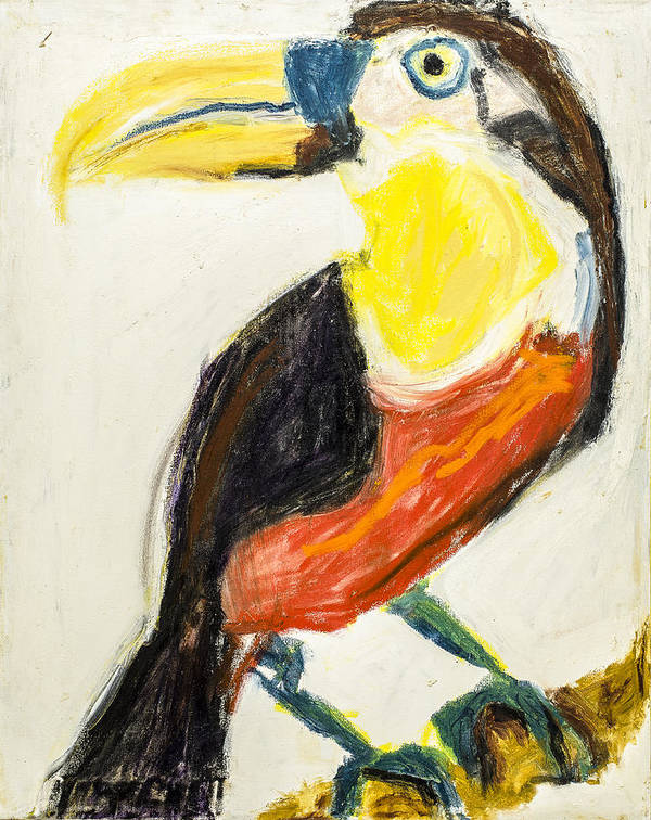 B13. Iris Gill Print featuring the painting Untitled by Iris Gill