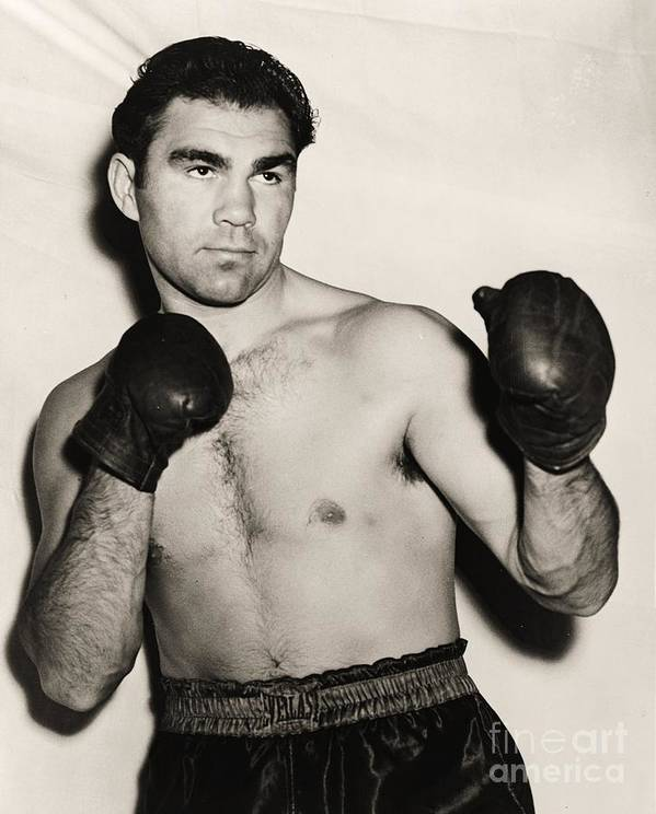 U.s.pd Print featuring the photograph Max Schmeling by Pg Reproductions