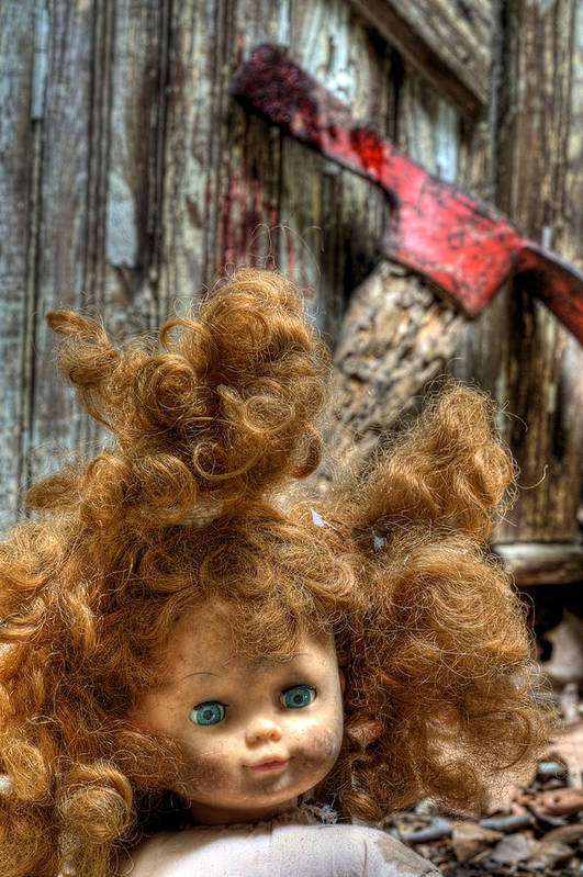 Bad Hair Day Print featuring the photograph Bad Hair Day by JC Findley