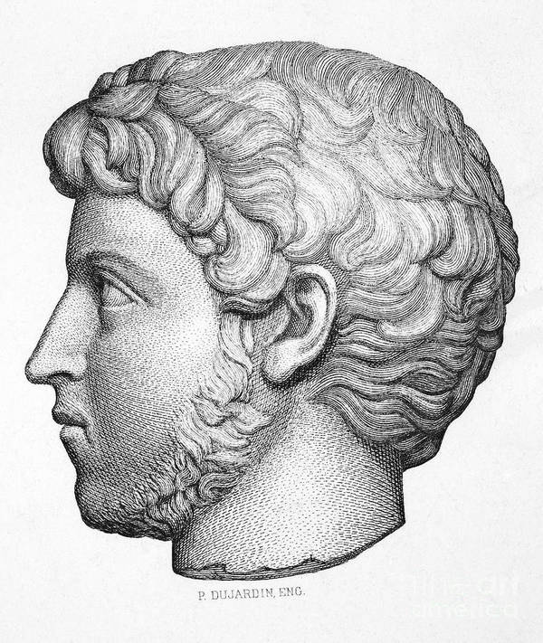 3rd Century Print featuring the photograph Heliogabalus (204-222) by Granger