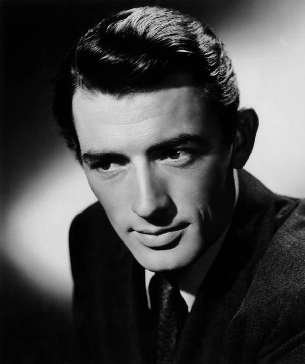1940s Portraits Print featuring the photograph Spellbound, Gregory Peck, 1945 by Everett