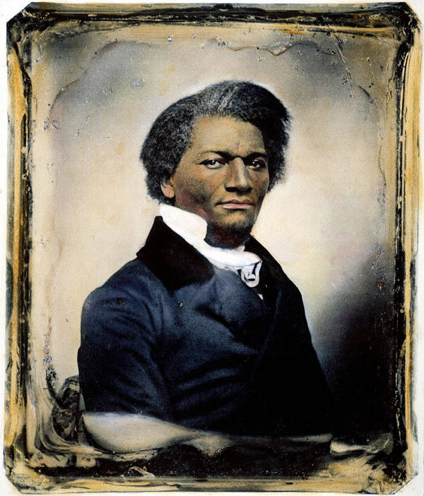 1855 Print featuring the photograph Frederick Douglass by Granger