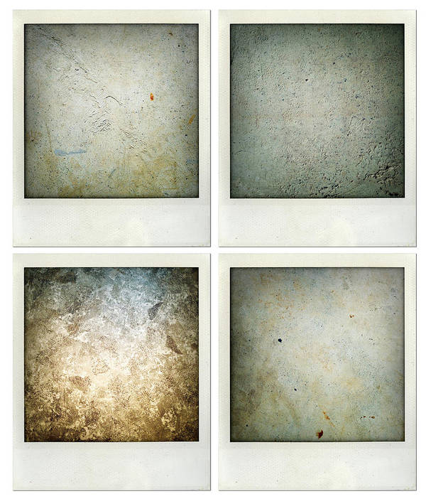 Abstract Print featuring the photograph Textures by Les Cunliffe
