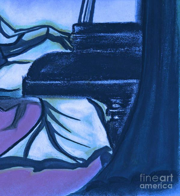 First Star Art Print featuring the painting Grand By Jrr by First Star Art