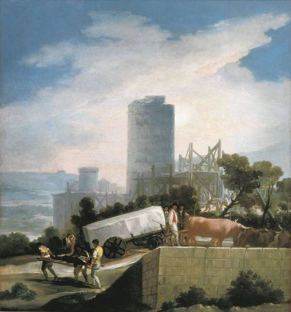 Vertical Print featuring the photograph Goya Y Lucientes, Francisco De by Everett