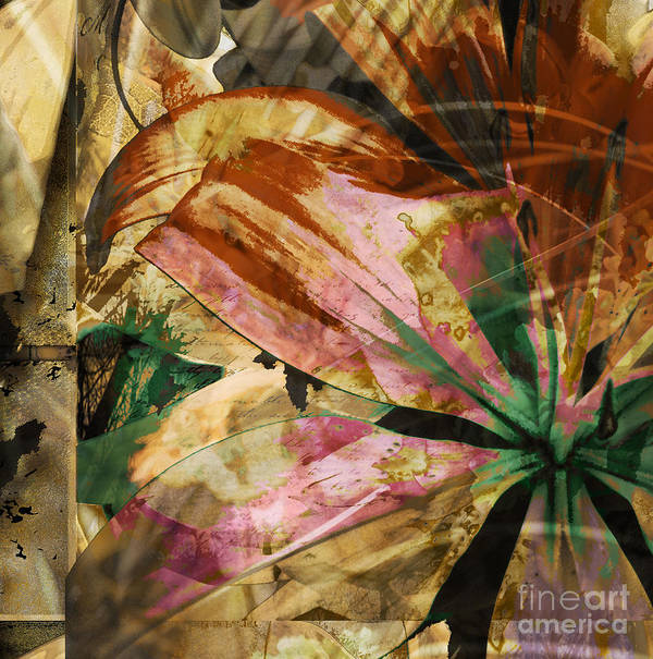 Print featuring the mixed media Awed II by Yanni Theodorou