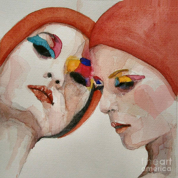 True Colors Print featuring the painting True Colors by Paul Lovering