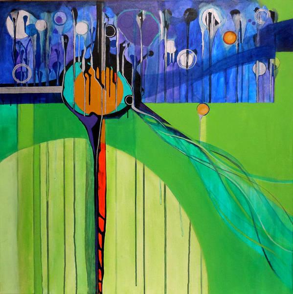 Mazel Tov Print featuring the painting Mazal Tov by Marlene Burns