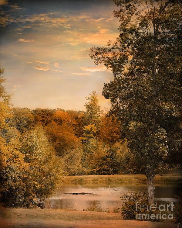 Autumn Print featuring the photograph Impending Autumn by Jai Johnson