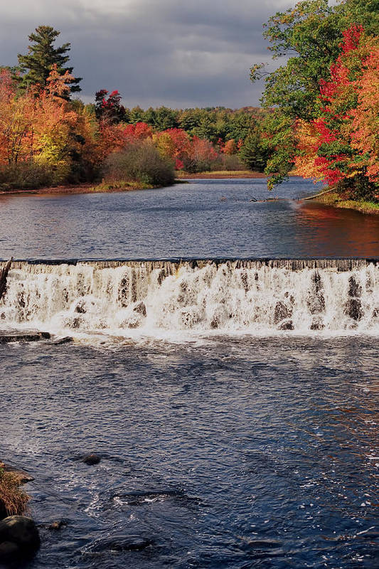 Autumn Print featuring the photograph Falls Color by Joann Vitali