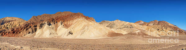 Valley Print featuring the photograph Artist' Palette Pano by Jane Rix