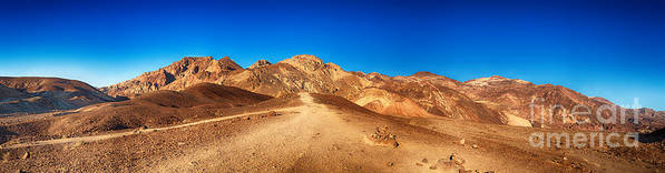 Valley Print featuring the photograph Artist Palette Pano by Jane Rix