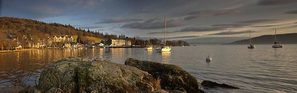 Boat Print featuring the photograph Lake Windermere Ambleside, Cumbria by John Short