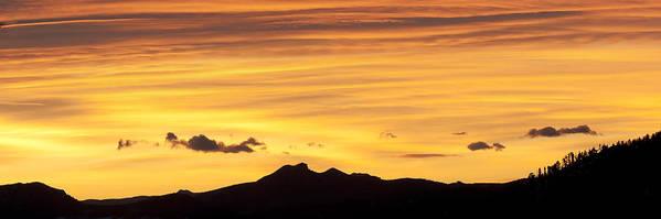 Colorado Print featuring the photograph Colorado Sunrise Landscape by Beth Riser