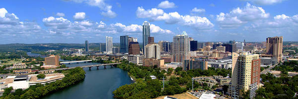 Austin Print featuring the photograph My Austin Skyline by James Granberry
