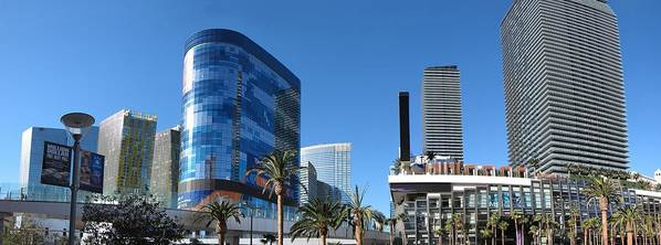 Las Print featuring the photograph Las Vegas - Cosmopolitan Casino - 12121 by DC Photographer