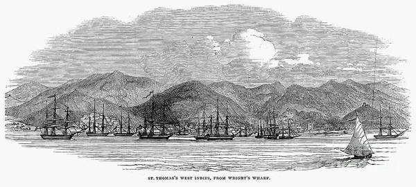 1844 Print featuring the photograph St. Thomas, 1844 by Granger