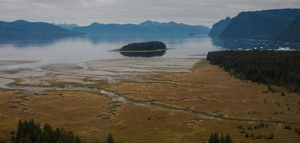 Frederick Sound Print featuring the photograph Wild Alaska Coast by Mike Reid