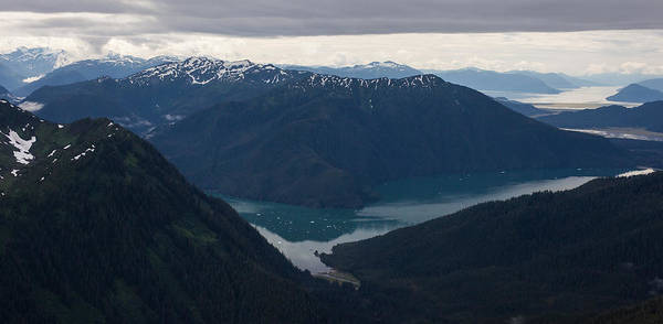 Frederick Sound Print featuring the photograph Alaska Coastal Serenity by Mike Reid