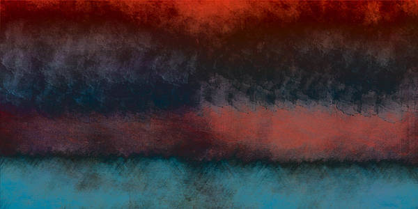 Digital Painting Print featuring the painting Storm Coming by Bonnie Bruno