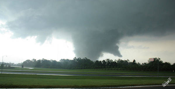 Tuscaloosa Tornado Print featuring the photograph Wrath by Rick Lipscomb