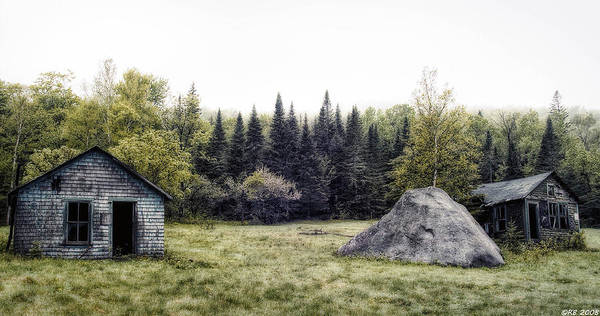 Country Print featuring the photograph Rustic Remnants by Richard Bean