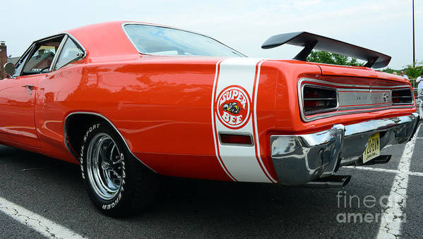 1970 Dodge Super Bee Print featuring the photograph 1970 Dodge Super Bee 2 by Paul Ward