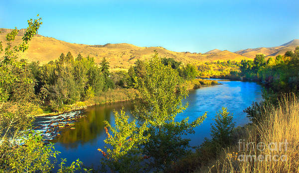 Idaho Print featuring the photograph Beautiful Payette by Robert Bales