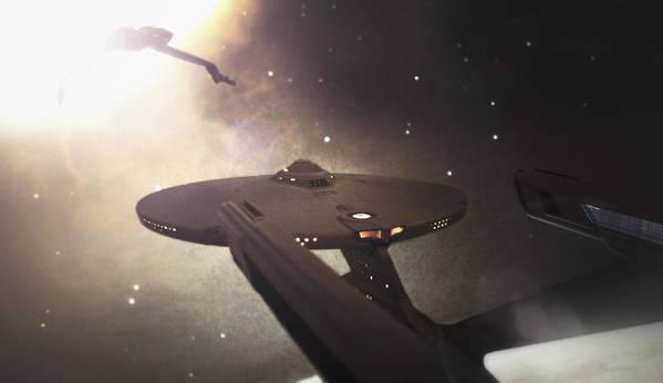 Star Trek Print featuring the photograph Star Trek Standoff by Jason Politte