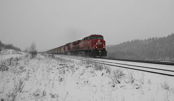 Transportation Print featuring the photograph Cp Rail 2 by Stuart Turnbull