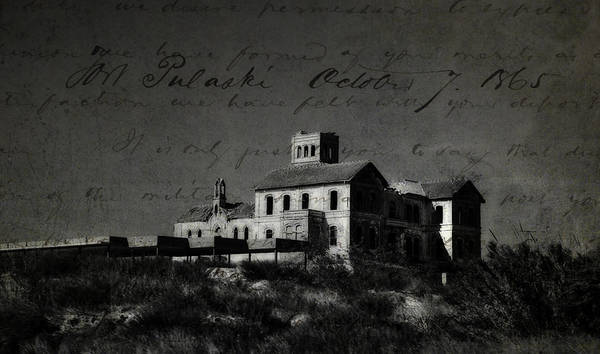 Spain Print featuring the photograph The Most Haunted House In Spain. Casa Encantada. Welcome To The Hell by Jenny Rainbow