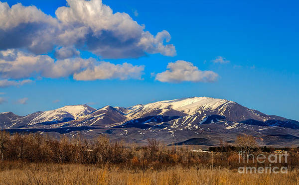 Gem County Print featuring the photograph The Butte by Robert Bales