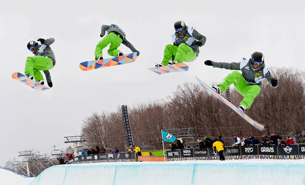 Kelly Clark Print featuring the photograph U.s. Womens Open 2011 by Linda Pulvermacher