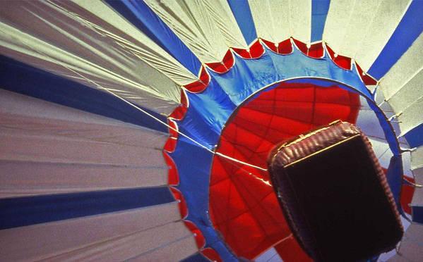 Tennessee Print featuring the photograph Hot Air Balloon - 1 by Randy Muir