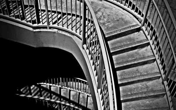 Abstracts Print featuring the photograph Visions Of Escher by Steven Milner