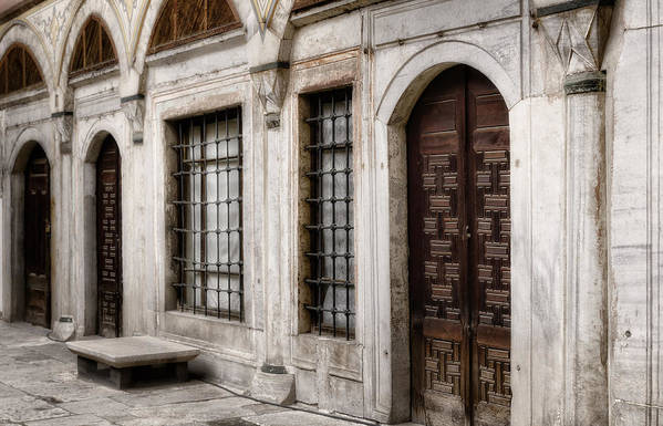 Ancient Print featuring the photograph Concubine Court by Joan Carroll