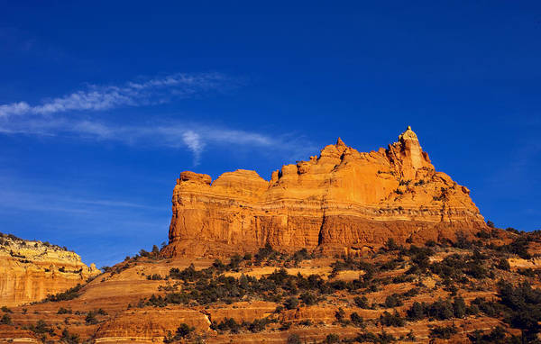 Sedona Print featuring the photograph Sedona Smoke Signals by Mike Dawson