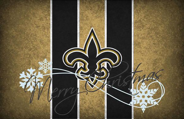 Saints Print featuring the photograph New Orleans Saints by Joe Hamilton